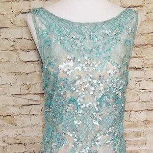 Aiden Mattox  Lace sequin  dress SZ 6.   #0157